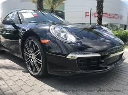 porsche coupe black 2016 used porsche 911 2dr coupe carrera black edition at porsche