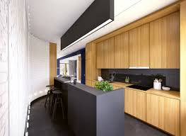 bar stool white wooden floor kitchen faucet dark brick wall white