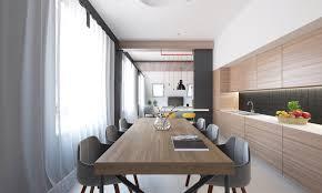 designer dining rooms furniture engaging rectangle shape unique wooden table design