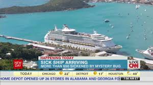 royal caribbean cruise ship returns home with a sickness record