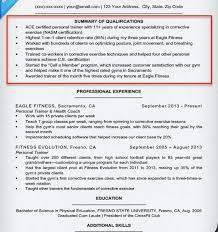 Career Summary Examples For Resume by Resume Qualifications Summary Examples Example Or Resume Sample