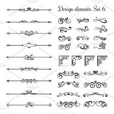 ornamental borders and corners illustrations creative market