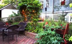 Simple Backyard Makeovers Backyard Deck Designs Plans Pottery Barn Dining Room Ideas Deck