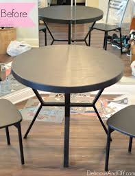Dining Room Table Makeover Ideas Dining Room Final Reveal Delicious And Diy