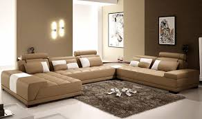 brown livingroom the interior of a living room in brown color features photos of