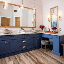 what color floor with blue cabinets 75 beautiful bathroom with blue cabinets pictures ideas