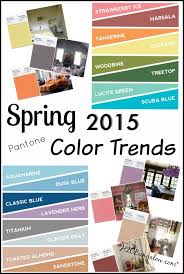 home design color trends 2015 pantone spring 2015 color trends