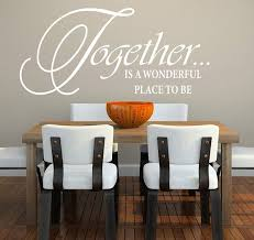 dining room walls 15 awesome dining room wall decals home design lover