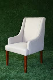 High Back Accent Chair Linen High Back Accent Chair Darryl Co