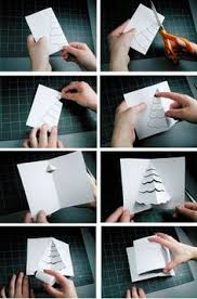 make a christmas tree pop up card robert sabuda method