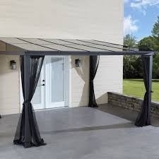 Patio Gazebo Replacement Covers by Get More Space With The Grand Resort Add A Room Gazebo With
