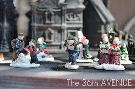 halloween village diy dollar store craft the 36th avenue