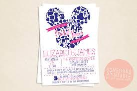 disney bridal shower invitations disney bridal shower invitations