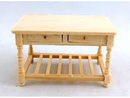 1 24 kitchen furniture unfinished wooden work table falcon