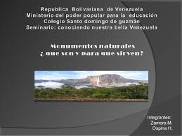 imagenes monumentos naturales de venezuela monumentos naturales mhauro horacio