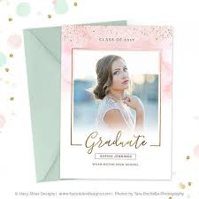 high school graduation invitation high school graduation invitation template for photographers gd156