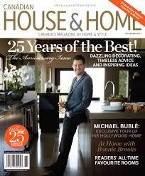 Home Decor Magazines Canada House And Home Magazine House And Home Magazine Fair Canadian
