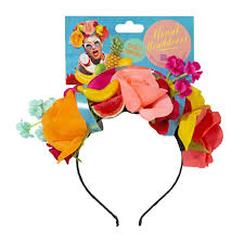 fruit headband cuban tropical fruit floral miranda headband fancy