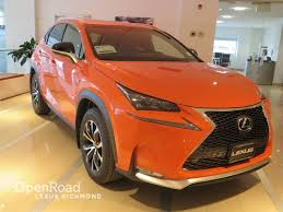 lexus nx demo used 2017 lexus nx 200t for sale in richmond bc openroad lexus