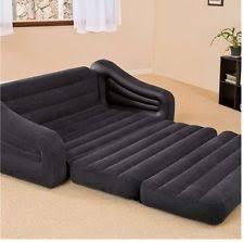 Air Mattress Sofa Sleeper Intex Inflatable Pull Out Sofa Queen Bed Mattress Sleeper 68566 E