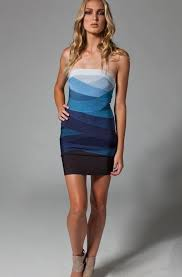 for sale blue ombre strapless herve leger dress s 450 herve