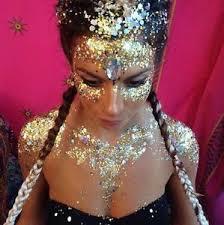 sparkly hair 10 glitter pots ibiza pacha festival sparkly rainbow hair