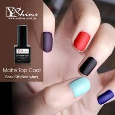 oem service y shine free sample beauty nail matte top coat matte