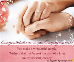 Wishes For Engagement Cards Engagement Congratulations Card