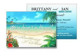 wedding invitations hawaii glam pretty weddings turquoise