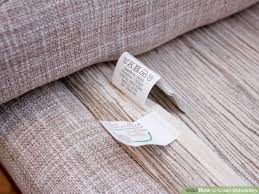 how to clean upholstery with pictures wikihow