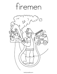 fireman coloring pages getcoloringpages