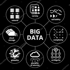 Data Map Big Data Map U2014 Stock Vector Mssa 55949961