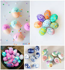 20 CRAZY COLORFUL EASTER EGG DECORATING IDEAS