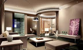 elegant luxury home modern decor design that has modern dark brown