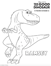 good dinosaur coloring pages creativemove