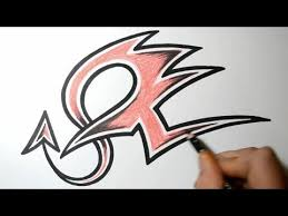 how to draw the letter v in graffiti with pictures videos