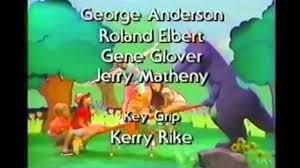 The Backyard Show Book Barney by Opening Closing To Barney U0026 The Backyard Gang Three Wishes 1991
