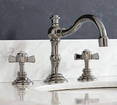 Cross Handle Bathroom Faucet by Langford Cross Handle Widespread Bathroom Faucet Pottery Barn