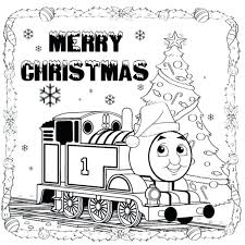 train merry coloring pages thomas tank engine games