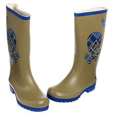 womens rubber boots size 9 nomad dijon rubber skull crossbones boots water resistant
