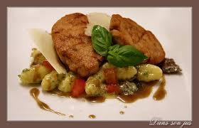 comment cuisiner des ris de veau ris de veau gnocchis aux truffes et parmesan dans jus