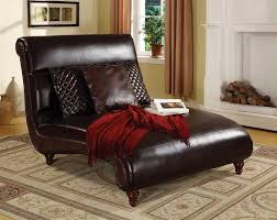 Rustic Chaise Lounge Home Design Curved Mocha Fabric Chaise Lounge Sofa With Brown