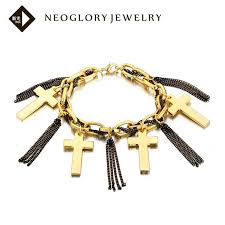gold plated bracelet charms images Charm gold plated bracelet bangle zinc alloy jewelry for women jpg