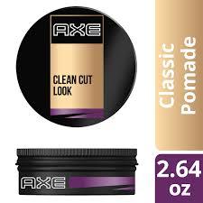 axe clean cut look classic hair pomade 2 64 oz walmart com