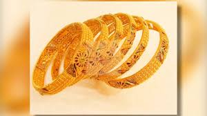 set of gold 6 gold bangles set designs 2017