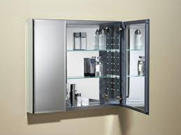 glass and stainless steel wall mounted modern bathroom storage