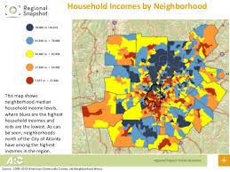 map of metro atlanta income changes in metro atlanta meandering through the research