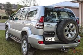 landcruiser prado gxl 4x4 2004 4d wagon manual 8 seats