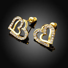 diamond ear studs platinum diamond ear studs online platinum diamond ear studs for