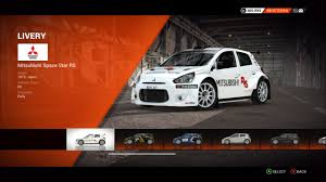 2015 mitsubishi rally car mitsubishi space star r5 colin mcrae rally and dirt wiki